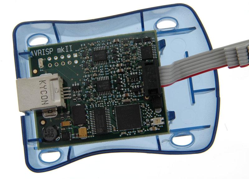 >产品大图:(3510)avrisp mkii 下载器(绝对原装,不)