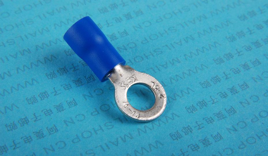>产品大图:(4893)接线耳(5mm.胶套) ---阿莫电子