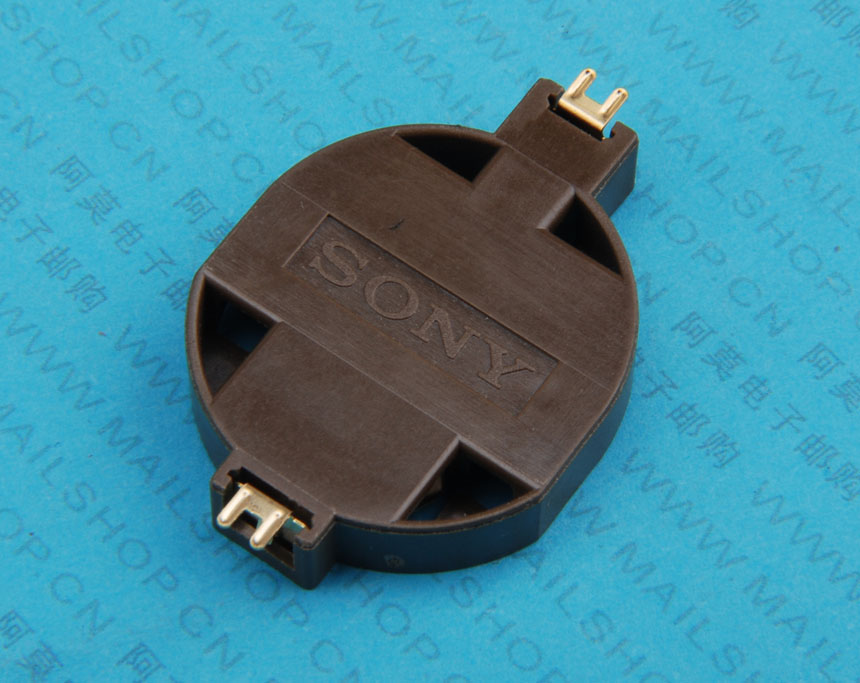 >产品大图:(11088)2032锂电池座(贴片进口不印字)图片